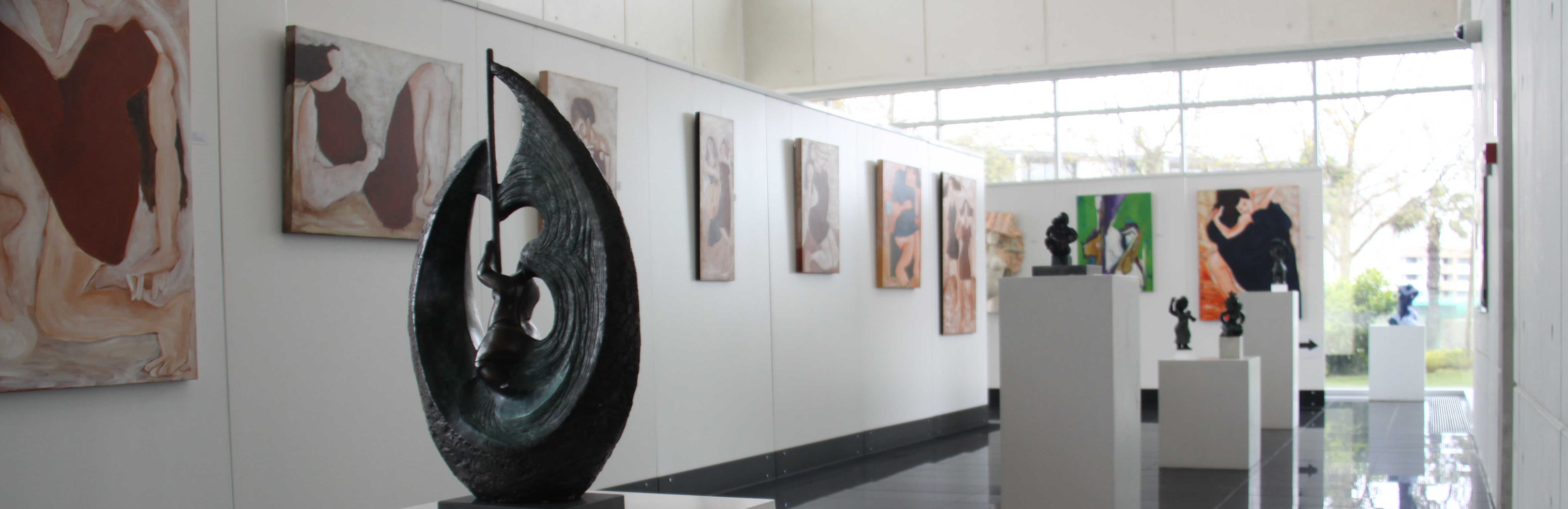 Galeria de exposições da DGAJ